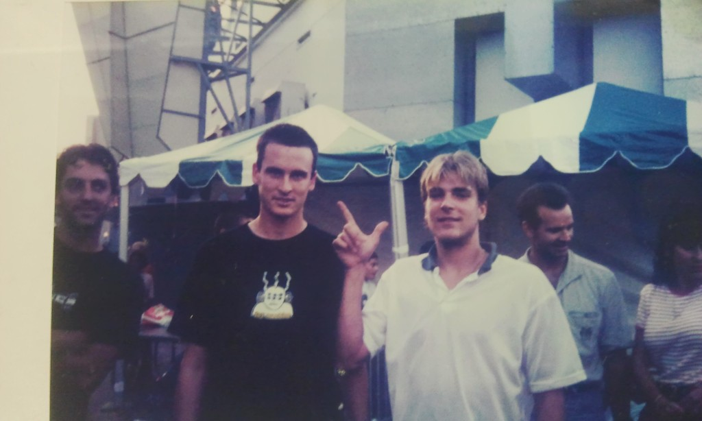 Ed Templeton and Chad Muska  - Circa 93