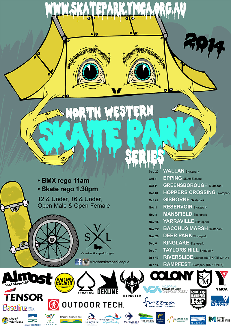 North Western Skatepark Series 2014