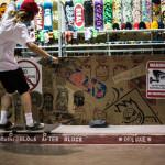Skateboarding at Agenda