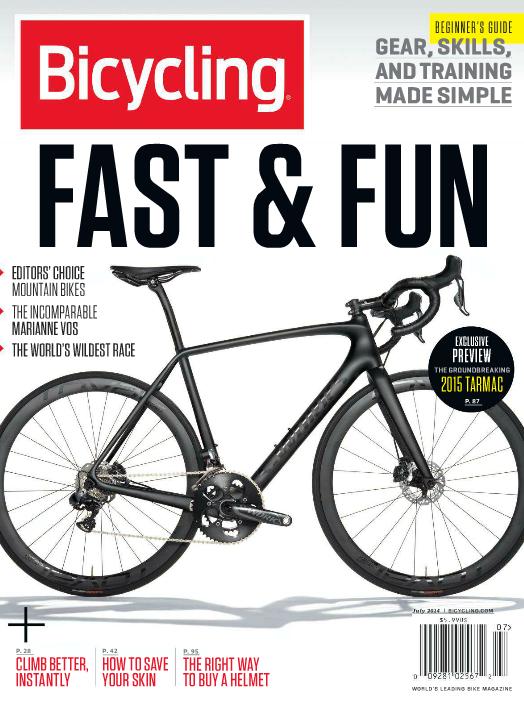 Bicycling Magazine July 2014