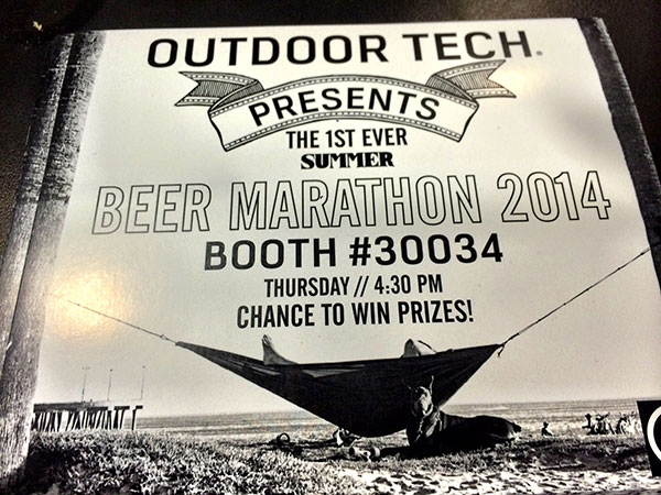Beer Marathon Card