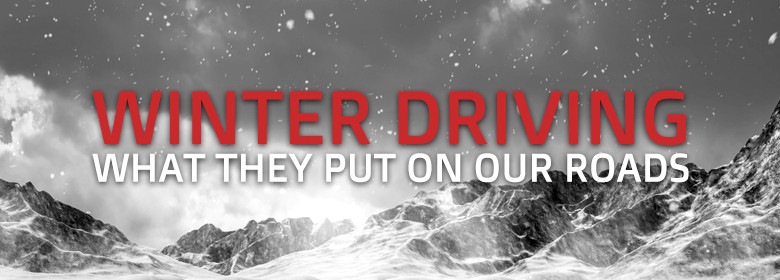 Winter Driving; What Are They Putting on Our Roads?