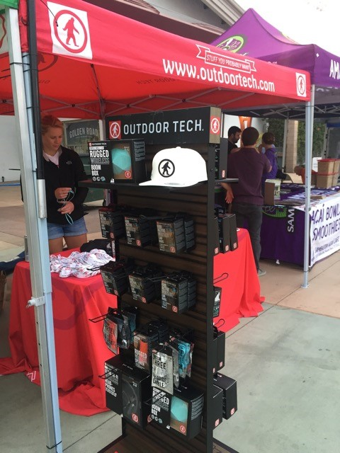 Outdoor Tech Booth at OC Marathon