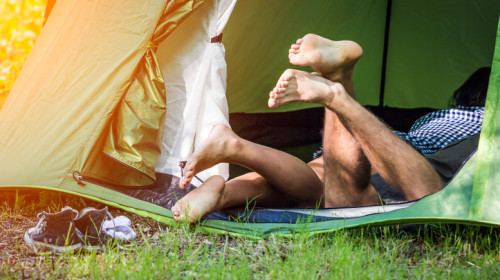 Sex in a Tent: 5 Tips for Roughing it in the Buff