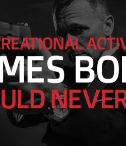 6 Recreational Activities James Bond Would Never Do