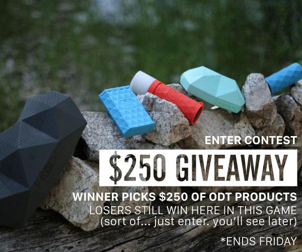ODT Giveaway: $250 Towards ODT