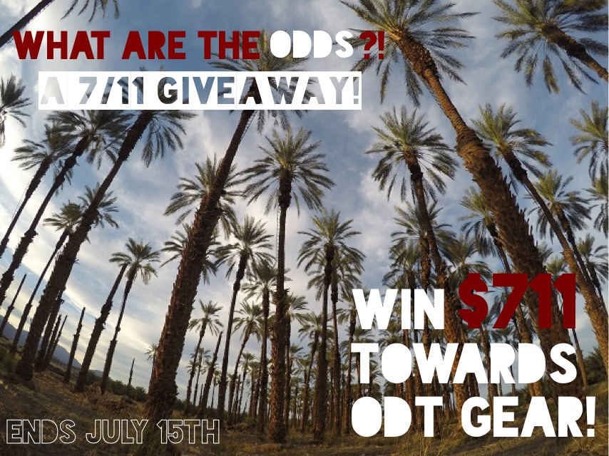 ODT Giveaway: $711 Towards ODT Gear
