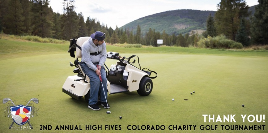 High Fives: Colorado Charity Golf Tournament