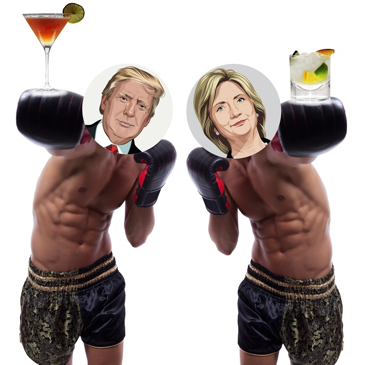 The Real Debate Tonight is What to Drink