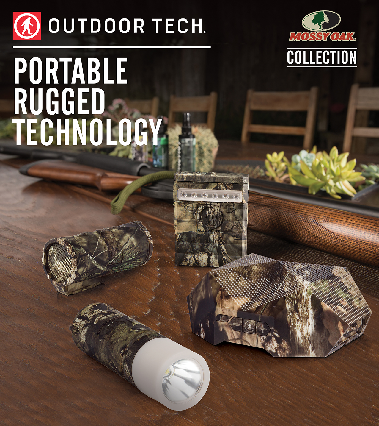 Outdoor Tech and Mossy Oak Collaboration Debut at Outdoor Retailer