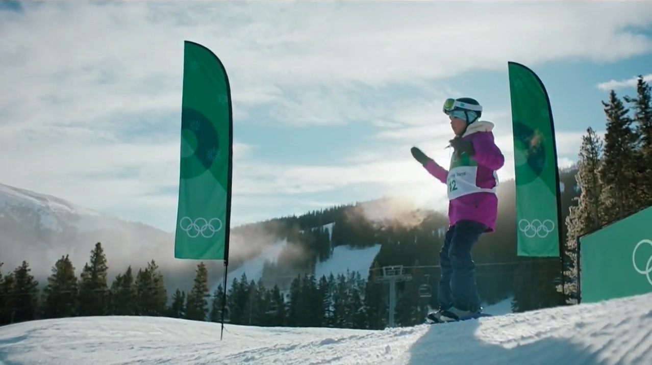 ODT Snow Athlete Michelle Zeller Makes Cameo in Intel Commercial