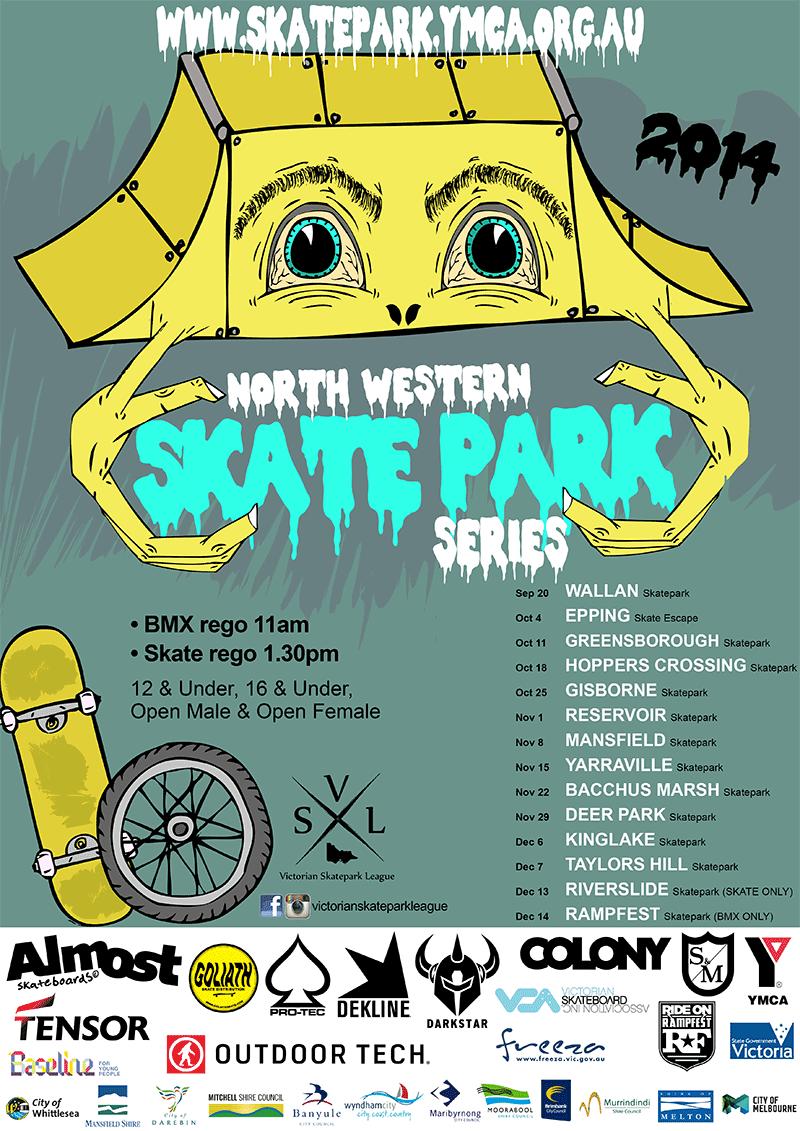North Western Skatepark Series 2014